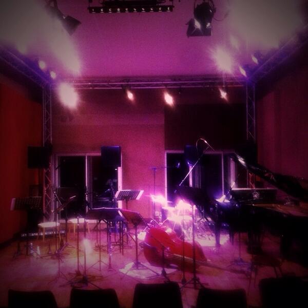 L'ensemble Dédales au studio Sextan